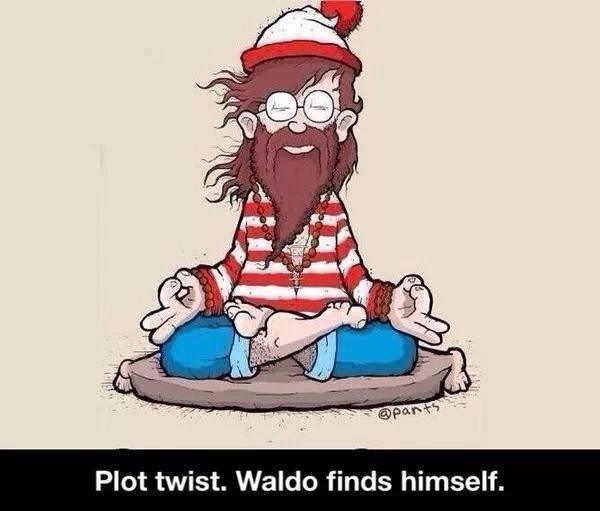 Plot Twist: Waldo Finds Himself.