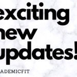 A New Day for AcademicFit!